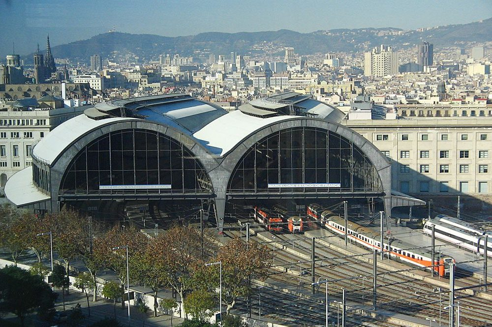 Barcelona Franca Train Station